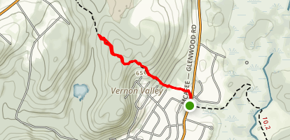 Governor Mountain Trail  Map