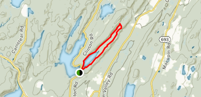 Pequannock Watershed: Hank's Pond Map