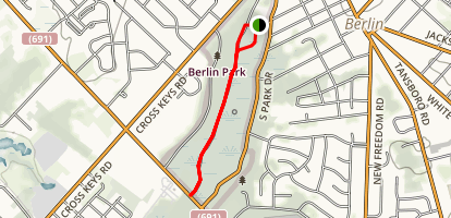 Berlin Park Trail Map