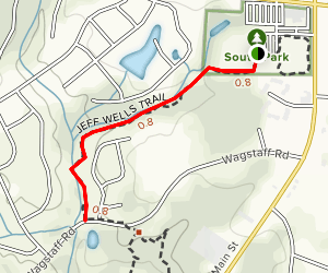 South Park Greenway Map