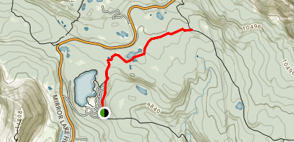Mirror Lake Trail Map