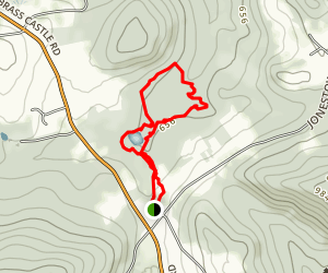 Lake Marguerite-Griffith Woods Loop Trail Map