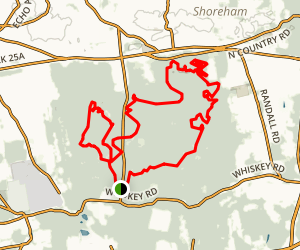 Rocky Point Mountain Bike Trail Full Loop Map