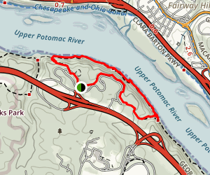 Turkey Run Park Loop Trail Map