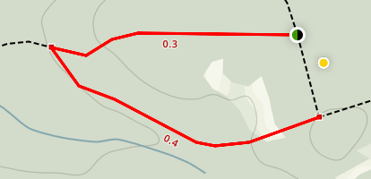 North Leg Trail Map