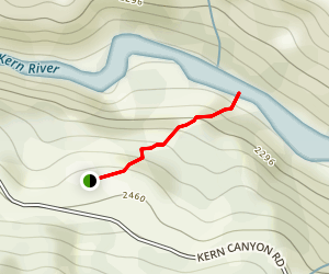 Remington Hot Spring Trail Map