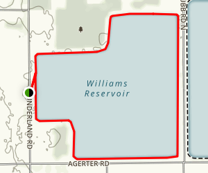 Williams Reservoir Trail Map