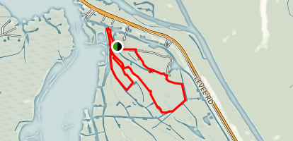 Lake Fausse Pointe State Park Trail Map