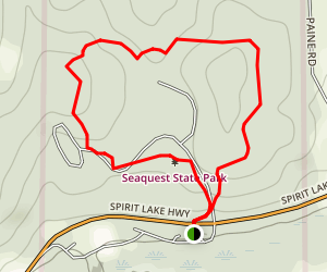 Seaquest State Park Loop Trail Map