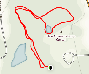 New Canaan Nature Center Map