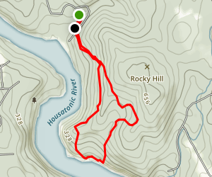 Sunny Valley Loop Trail Map