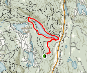 Bennetts Pond Loop Trail Map