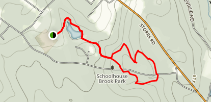 Schoolhouse Brook Park Loop Trail Map
