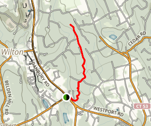 Norwalk River Valley Trail Map