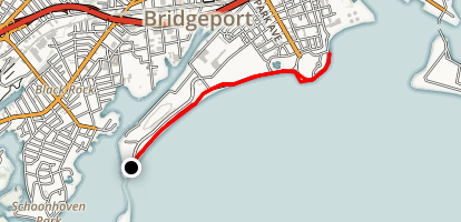 Bridgeport Seaside Beach Path Map