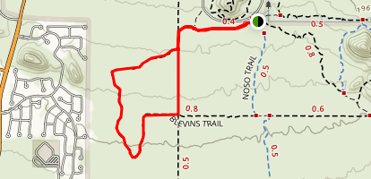 Moon Rocks Trail Map