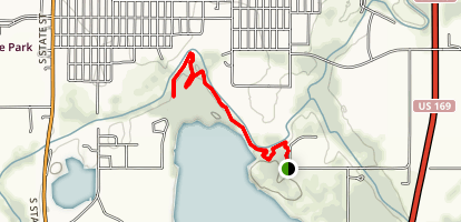 Lehigh Portland Trails: Creekside Map