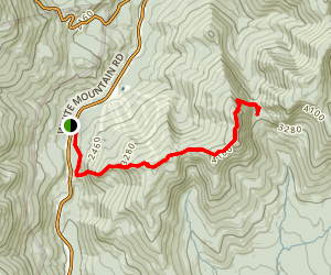 Wildcat Mountain and Carter Notch via Appalachian Trail Map
