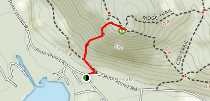 Ramsey Trail To Pasture Map