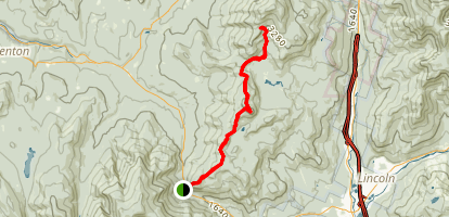 Harrington Pond Via Appalachian Trail Map