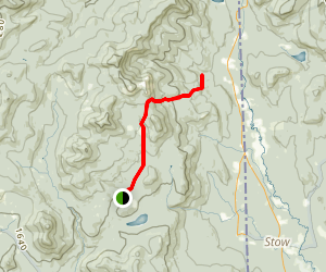 Slippery Brook Trail Map