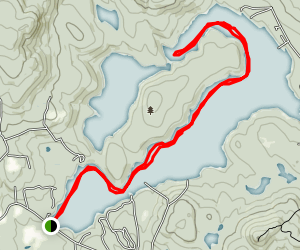 Nubanusit Lake Map