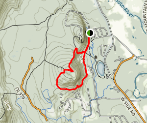 Whitehorse Ledge Loop Trail Map