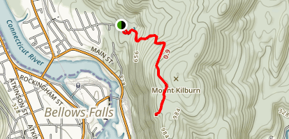 Mount Kilburn Trail Map