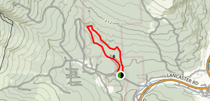 Moose Brook State Park Loop Map