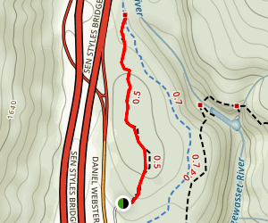 Whitehouse Trail Map