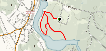 Heron Point Sactuary Loop Trail Map