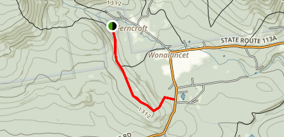 Mount Katherine Trail Map