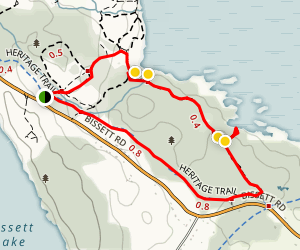 Costly Farm Heritage Trail Loop Map