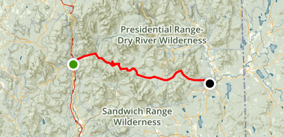 Kancamagus Highway Scenic Drive Map