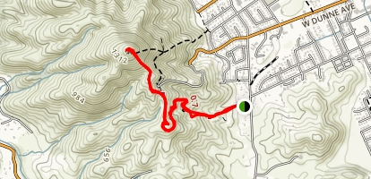 El Toro Trail [PRIVATE PROPERTY] Map