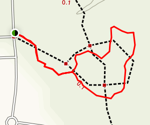 Red Oak Ramble Trail Map