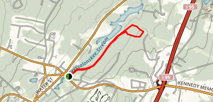 Messalonskee Trail Map