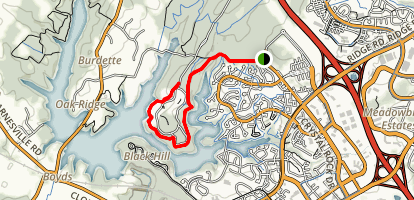 Crystal Rock and Black Hill Trails Map