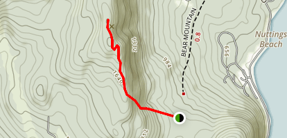 Bear Mountain Trail Map