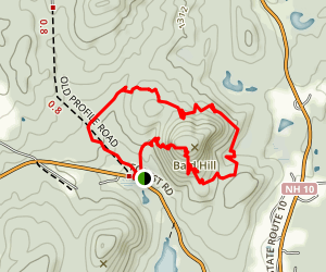 Bald Mountain Preserve Map