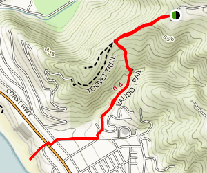Aliso Peak to Coast Royale Beach Map