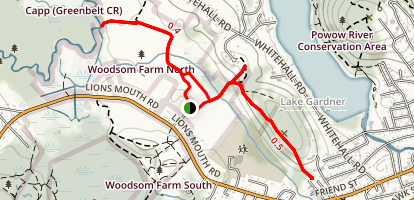 Woodsom Farm North Map