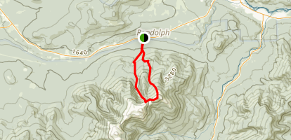 Mount Madison Via Watson Path Map