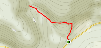 Pam's Grotto Waterfall Trail Map