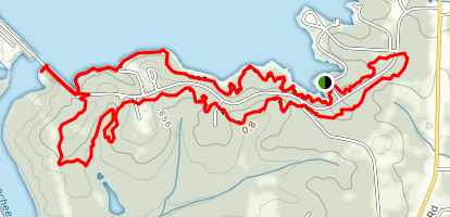 West Point Lakeside Trails Map