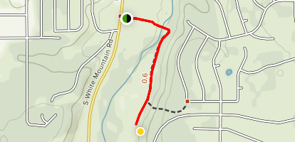 Show Low Bluff Trail Map