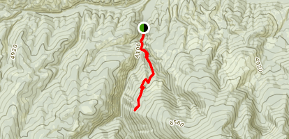 South Fork Lolo Creek Trail Map