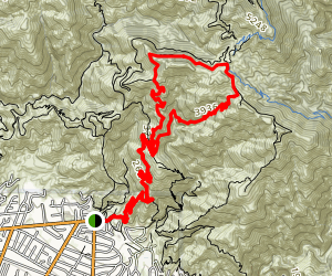 Inspiration Point Loop Trail Map