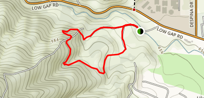 Canyon Creek Trail Map