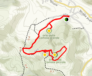 Edge of the Caverns Trail Map